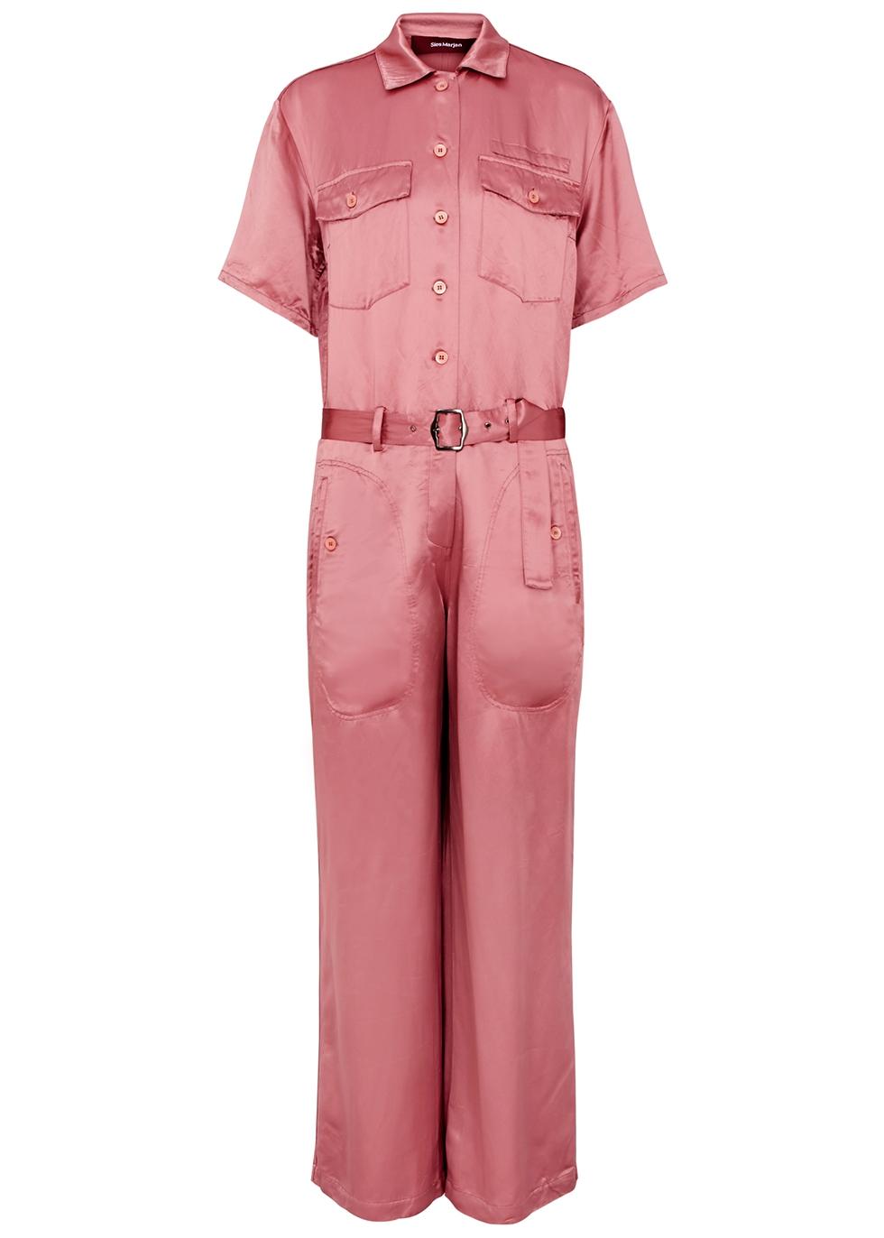 96e9ea2e2e Designer jumpsuits luxury brands harvey nichols jpg 591x827 Wine chiffon  jumpsuits