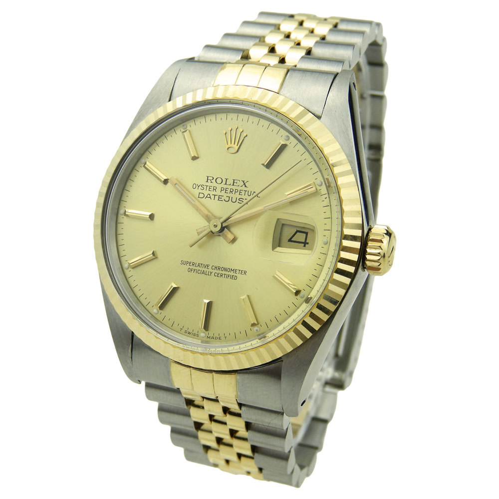 ROLEX Datejust Steel And Gold 16233