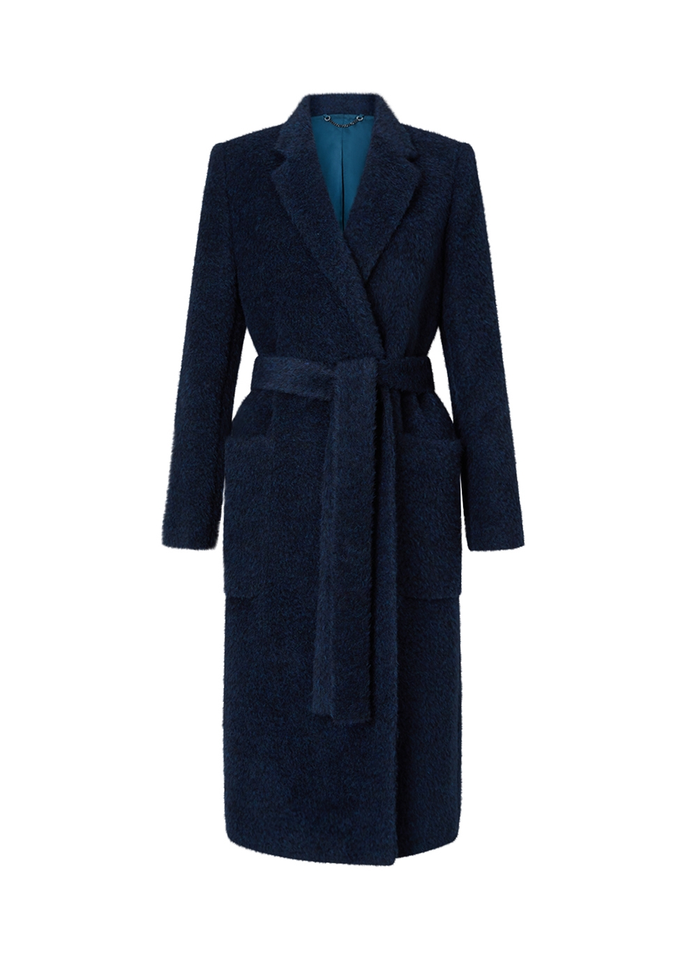 JIGSAW Luxe Narrow Belted Coat