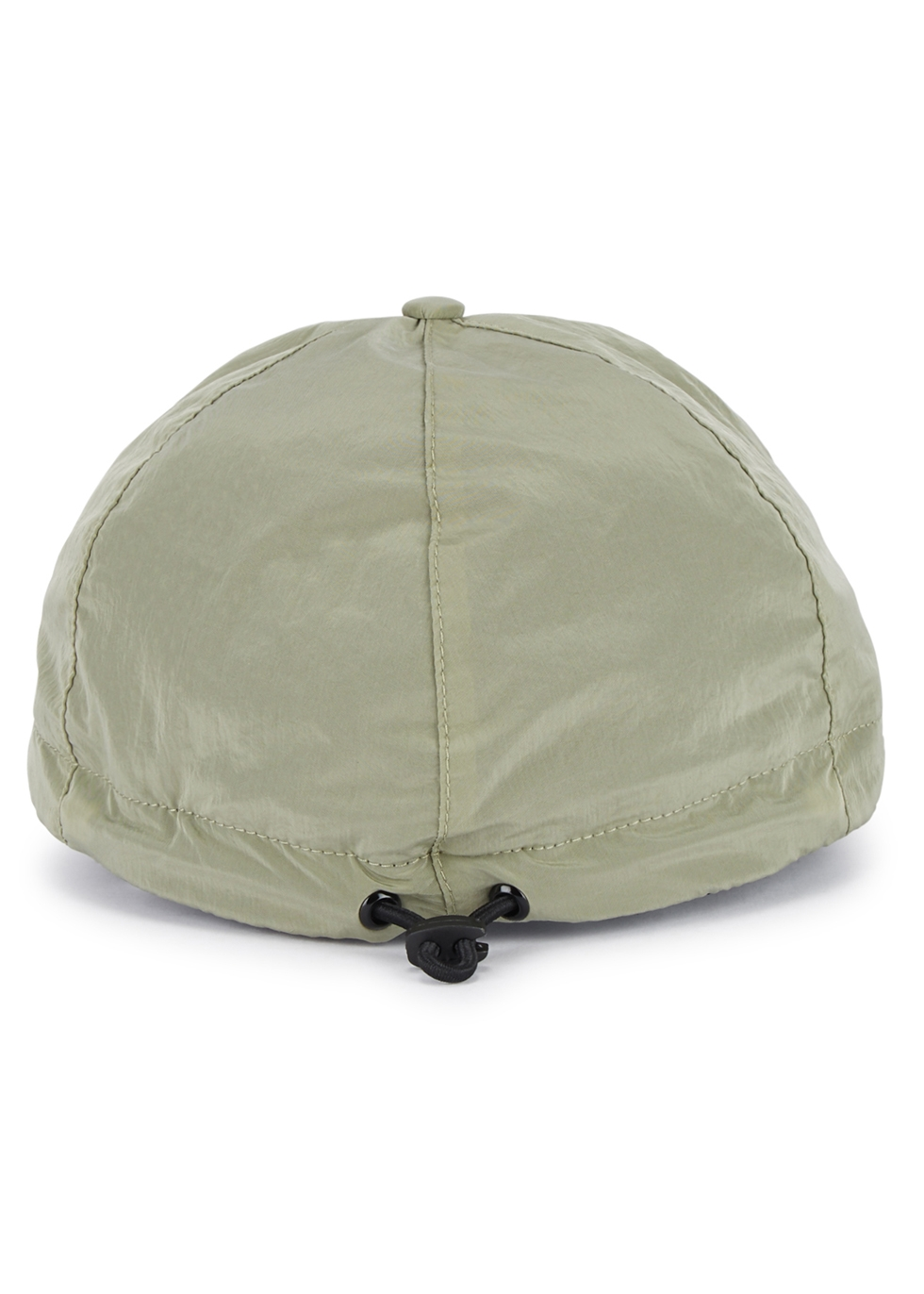 Army green nylon metal cap - Stone Island