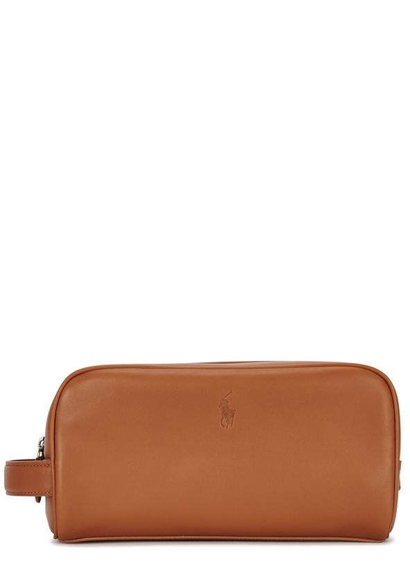Fawn leather wash bag Fawn leather wash bag. New Season. Polo Ralph Lauren 5d97e9db028fa