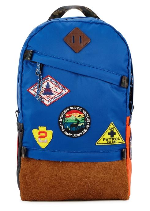 bcf7b5f7a0 Polo Ralph Lauren Go badge-appliquéd nylon backpack - Harvey Nichols