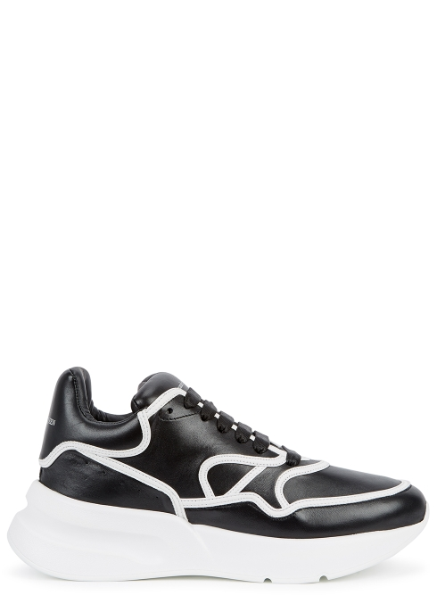 Alexander McQueen Oversized Runner leather trainers - Harvey Nichols ab208685a