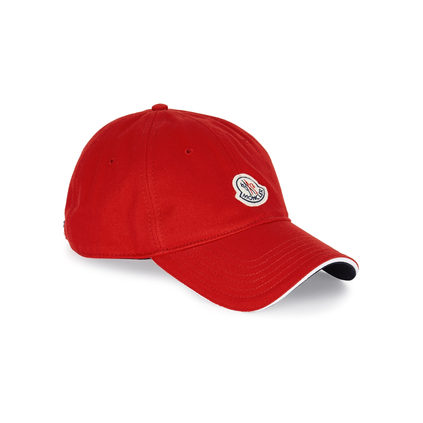Moncler Red cotton cap - Harvey Nichols a5804feb917