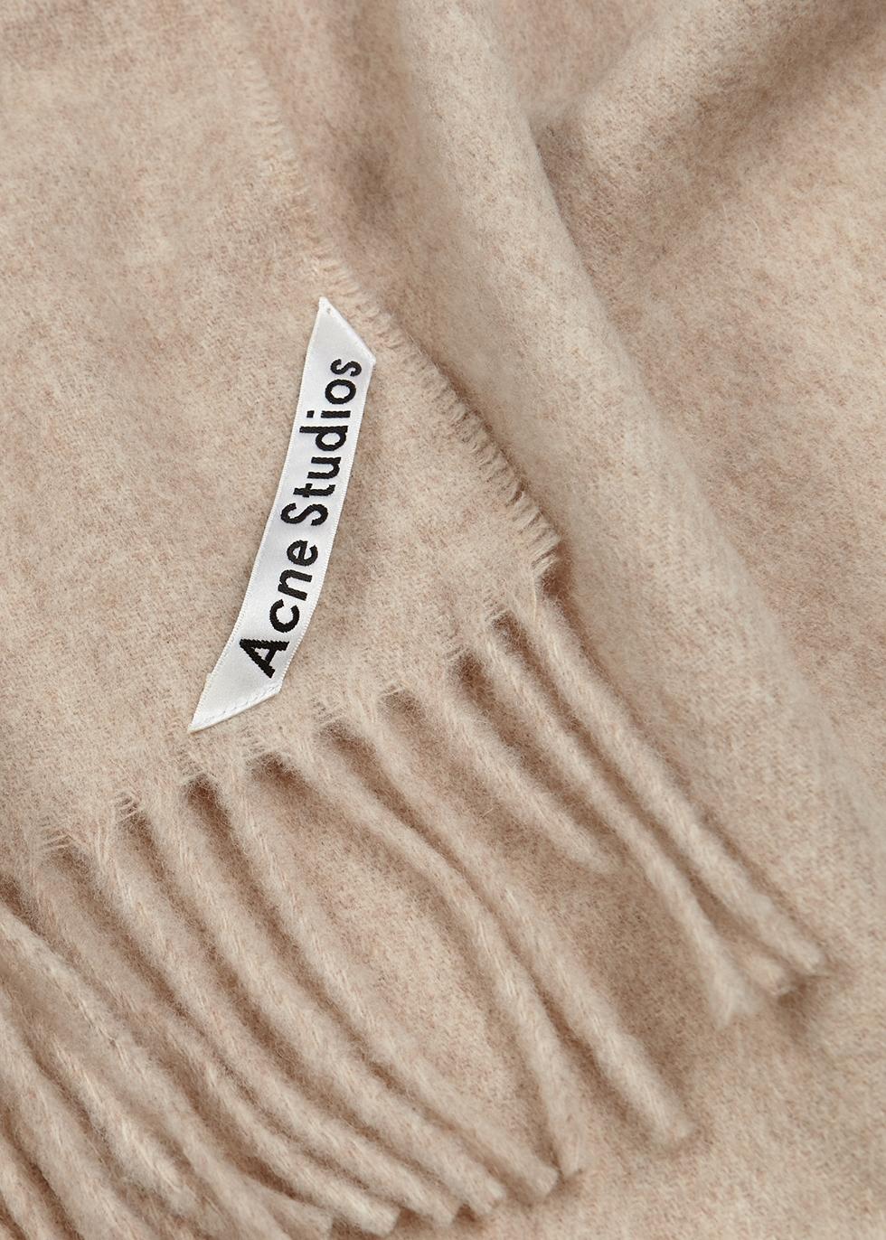 Canada sand mélange wool scarf - Acne Studios