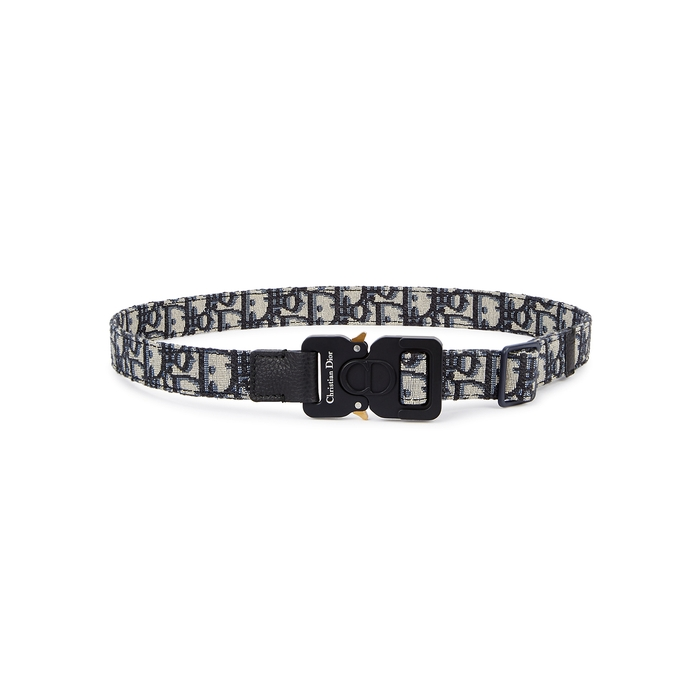 Dior Homme Logo Canvas Belt