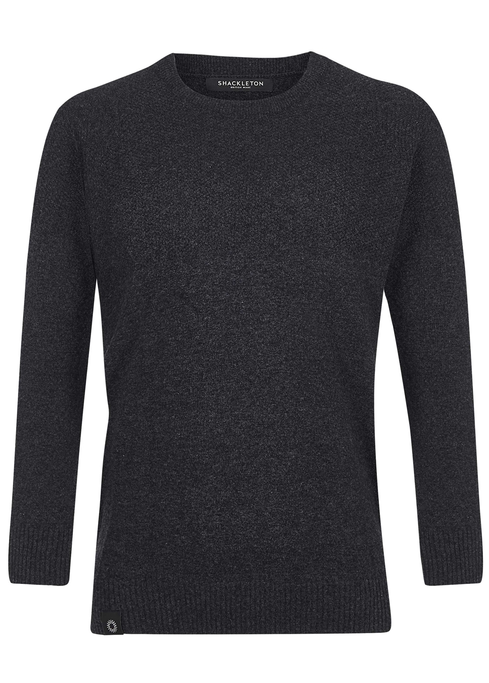 SHACKLETON Dulwich Sweater - Charcoal