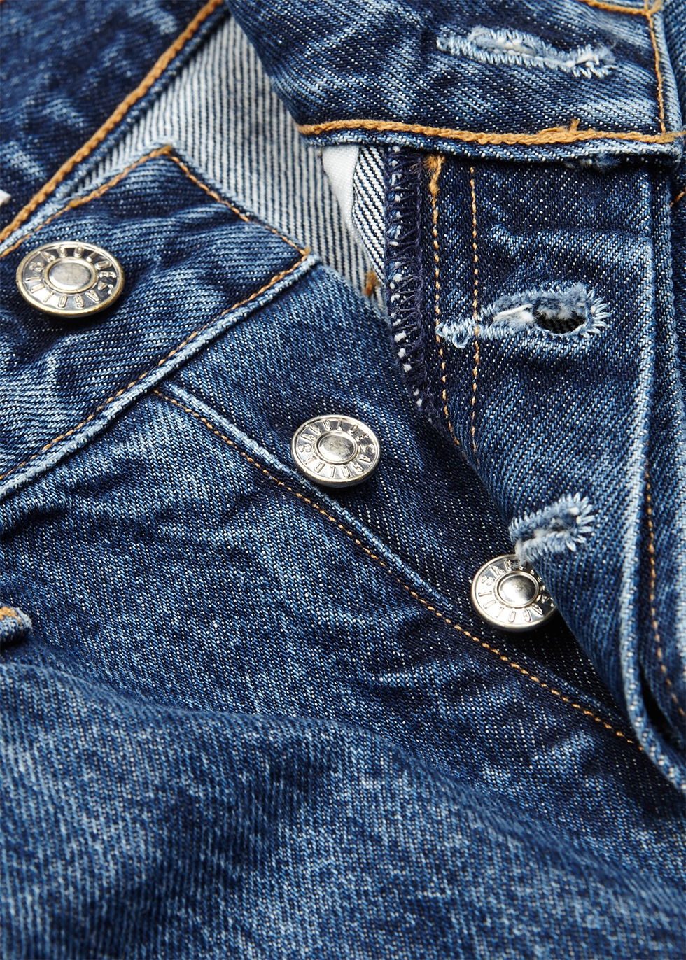 90s dark blue denim jeans - AGOLDE