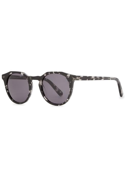 aefdecf44940f Finlay   Co Archer oval-frame sunglasses - Harvey Nichols