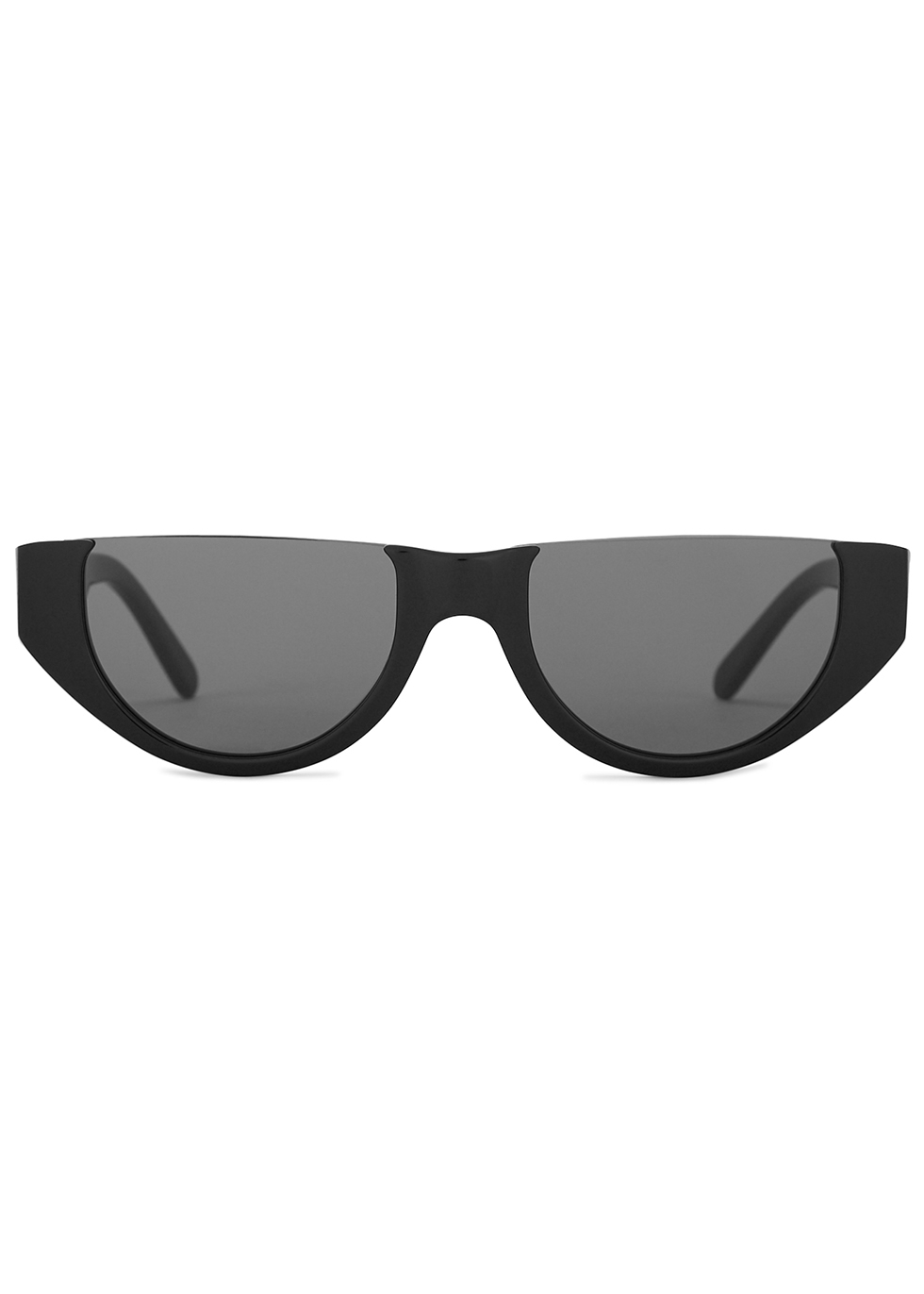 Florence black D-frame sunglasses - Finlay & Co