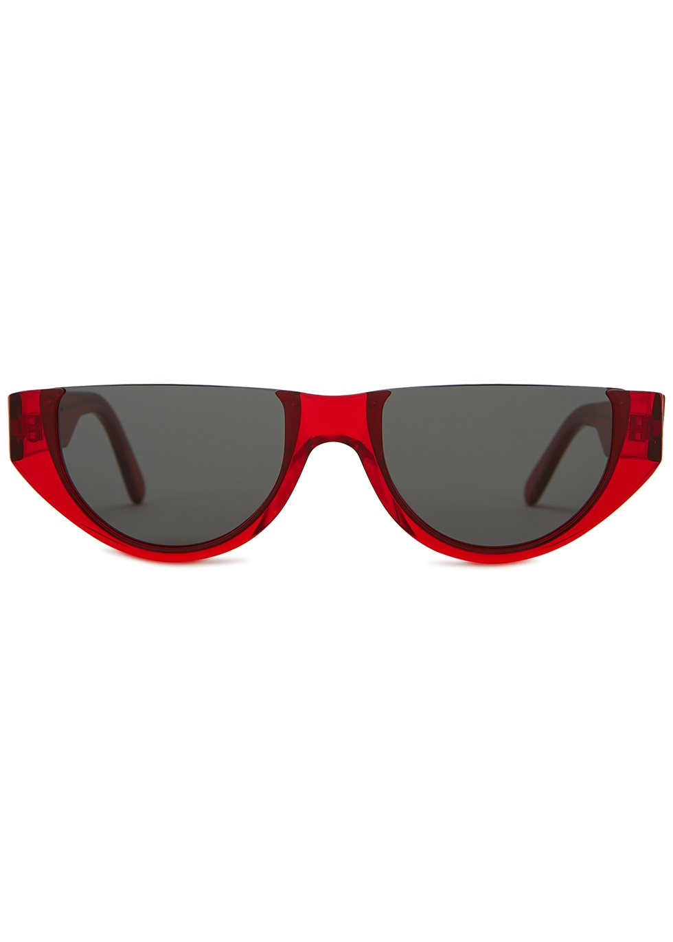 Florence red D-frame sunglasses - Finlay & Co