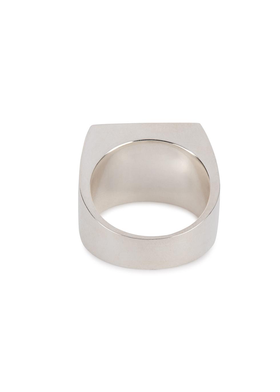 Sterling silver signet ring - LEGIER