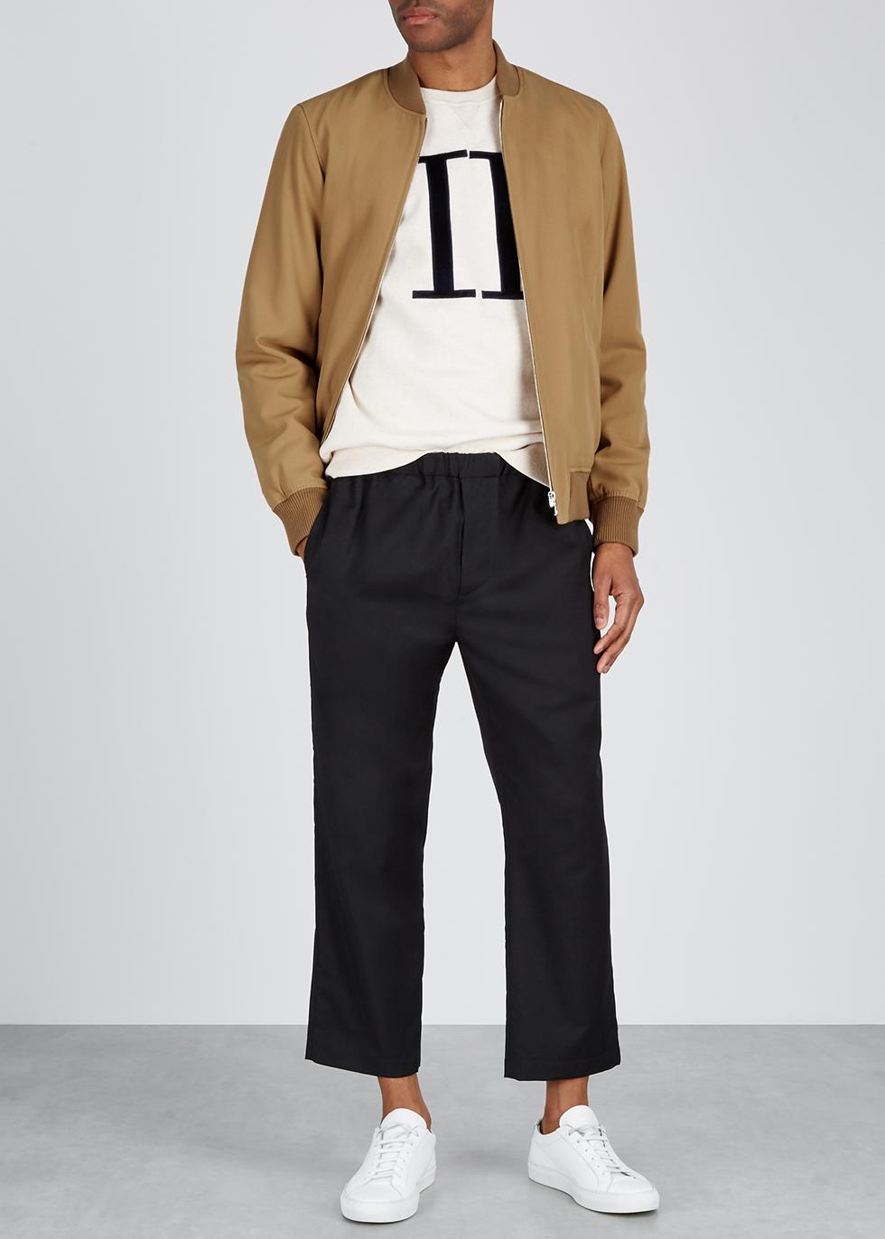 MA1 camel wool-blend bomber jacket - A.P.C.