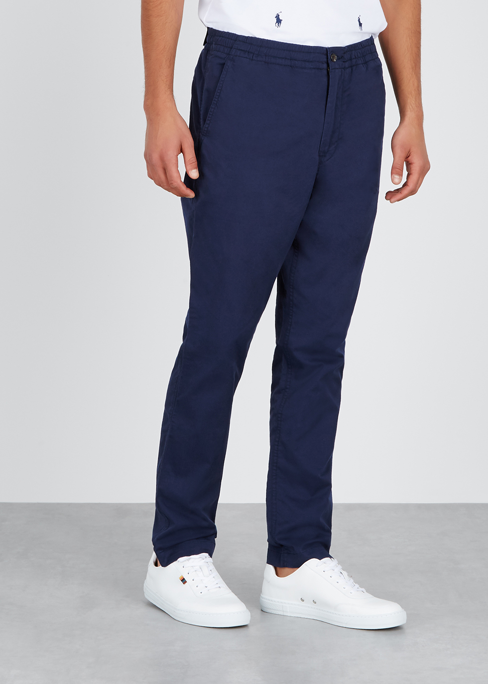 Navy cotton twill trousers - Polo Ralph Lauren