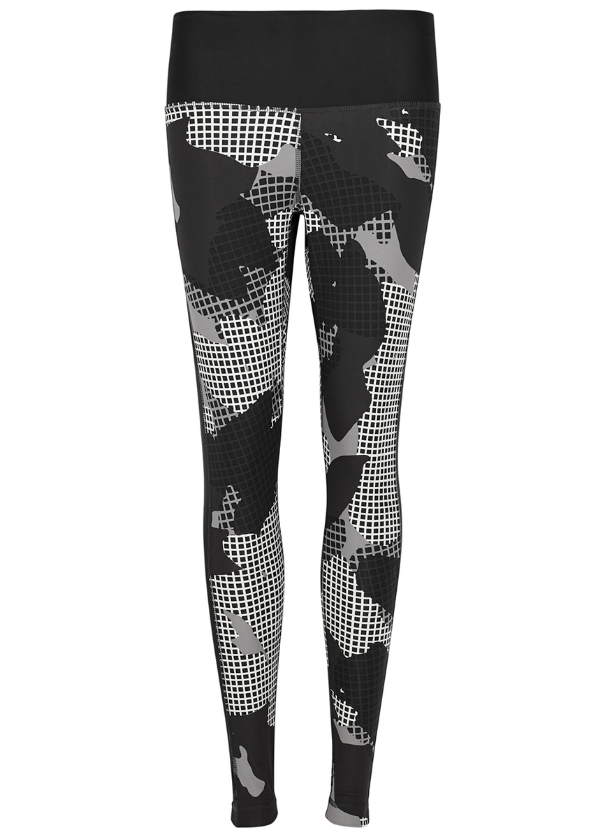 5bef172870e67 ... printed stretch-jersey leggings. adidas Training
