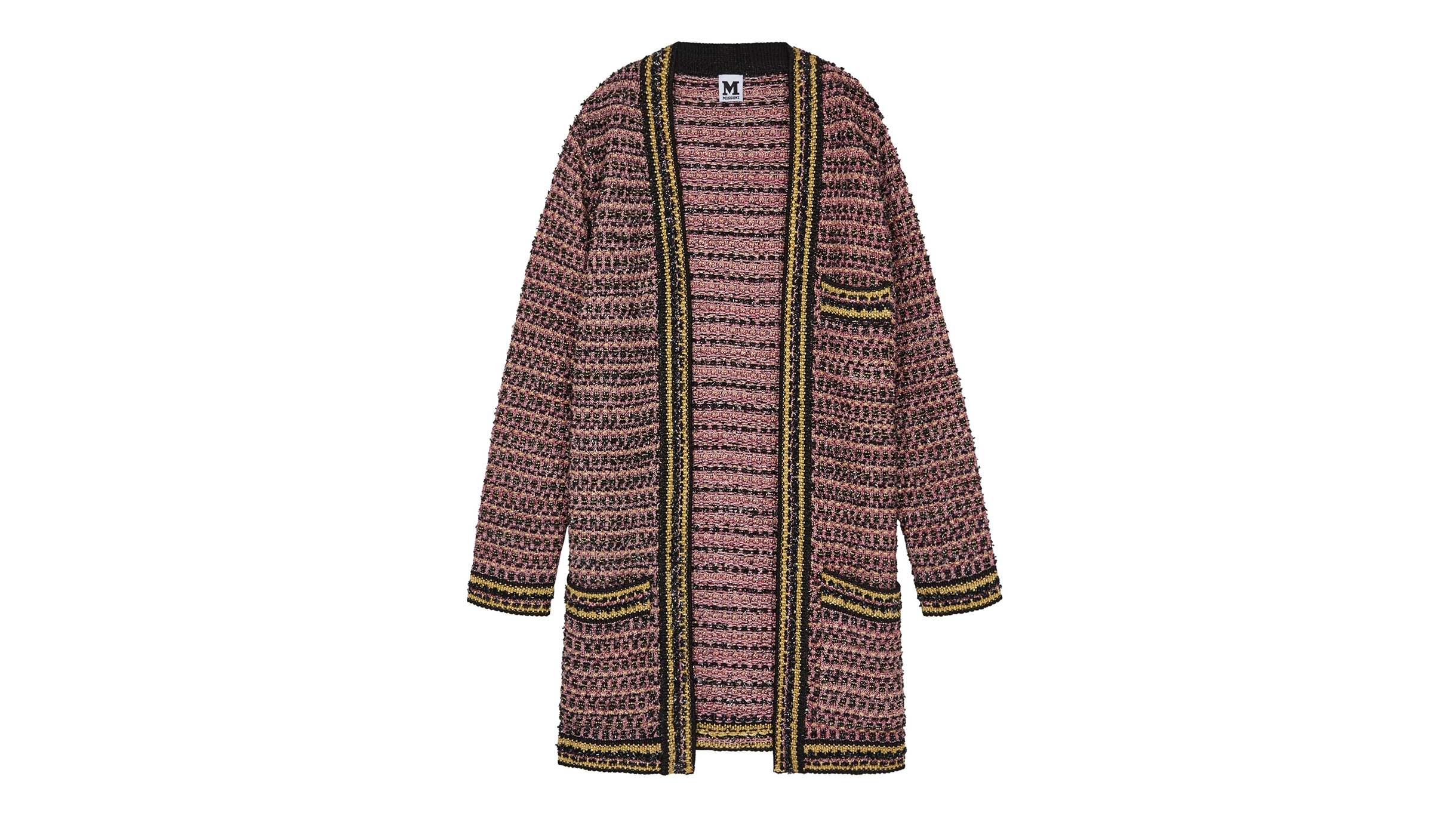 4acba39cfbf2 M Missoni Metallic tweed coat - Harvey Nichols