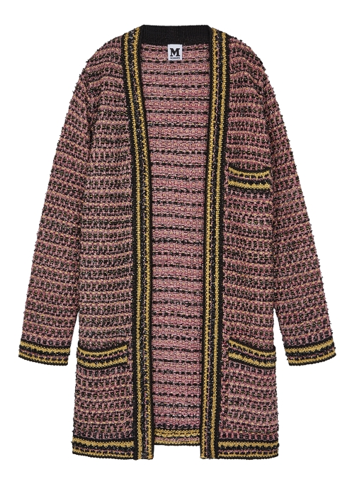 700a5a02ae M Missoni Metallic tweed coat - Harvey Nichols