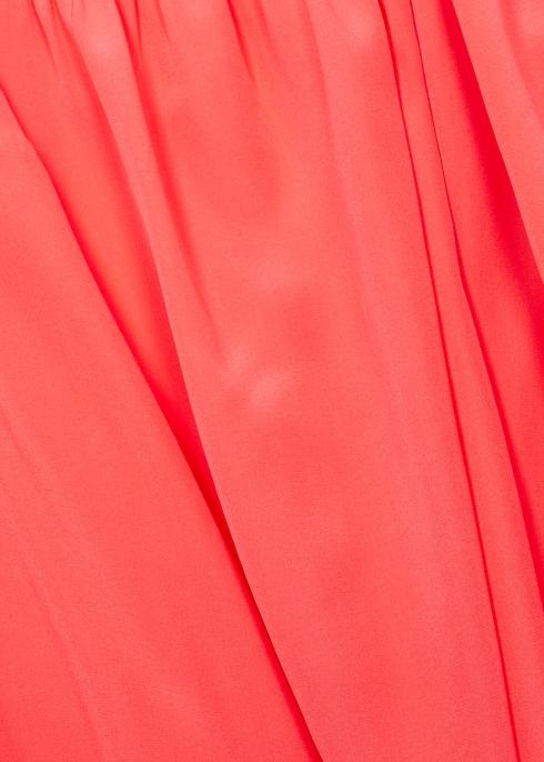 7f79536ad7a15 M Missoni Coral twist-effect silk blouse - Harvey Nichols