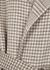 Alamo houndstooth wool-blend coat - Nanushka