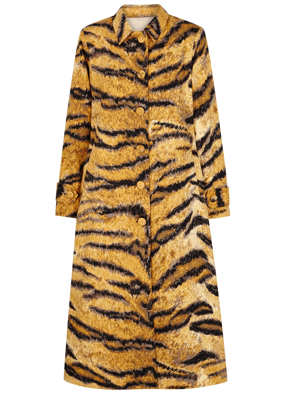 Christelle tiger-print cotton jacket - Hofmann