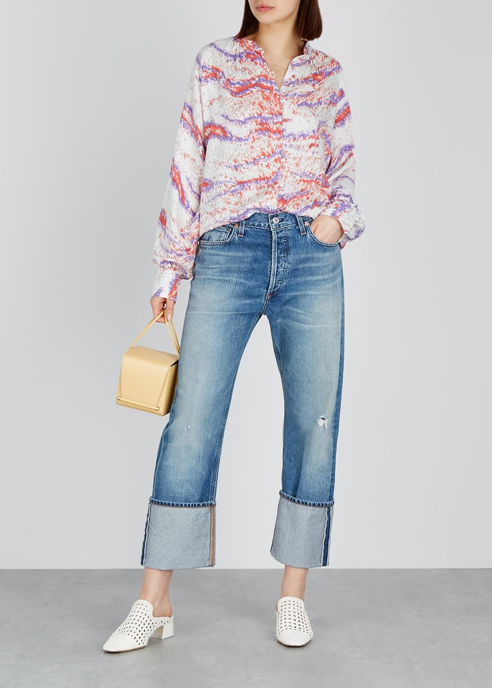 Sabine printed shirt - Hofmann