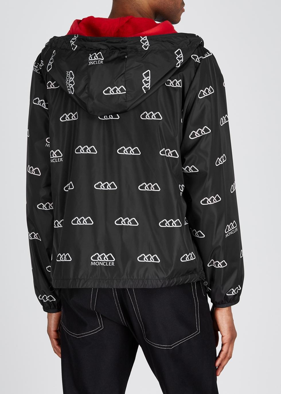 Mikael printed shell jacket - Moncler