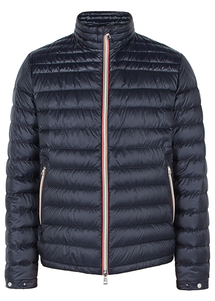 03c5f6dd89a5 Daniel navy quilted shell jacket ...