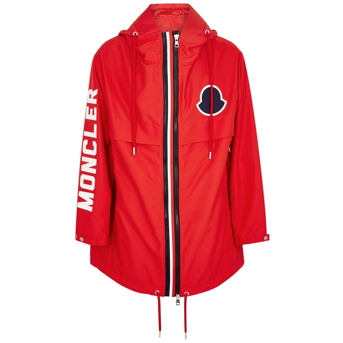 Moncler Granduc Red Shell Jacket