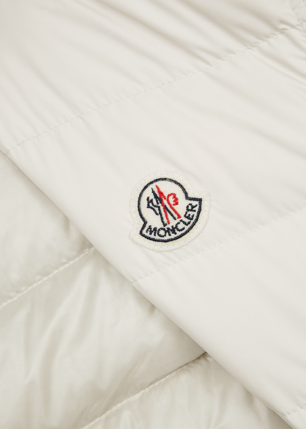 Febe off-white quilted shell gilet - Moncler