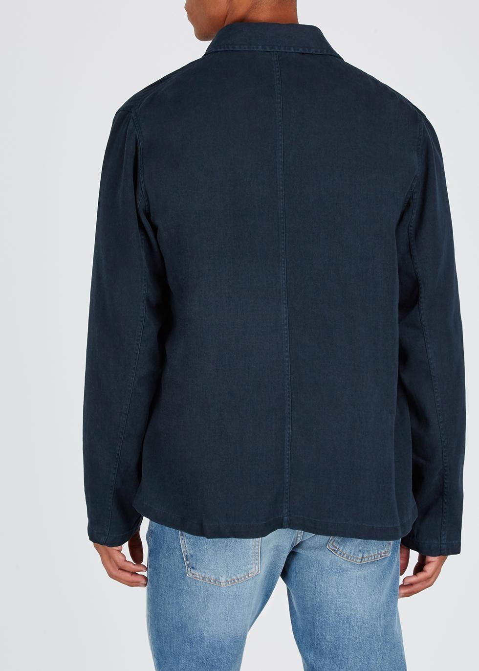 Oscar brushed twill jacket - NN07