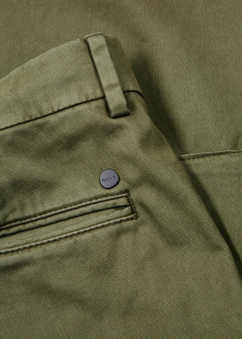 Django olive twill cargo trousers - NN07