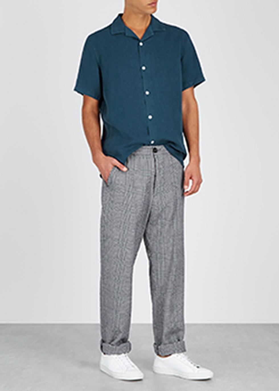 Miyagi navy shirt - NN07