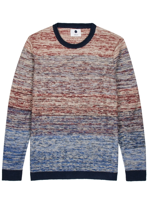 f8eb0275970e NN07 Javis fine-knit linen jumper - Harvey Nichols