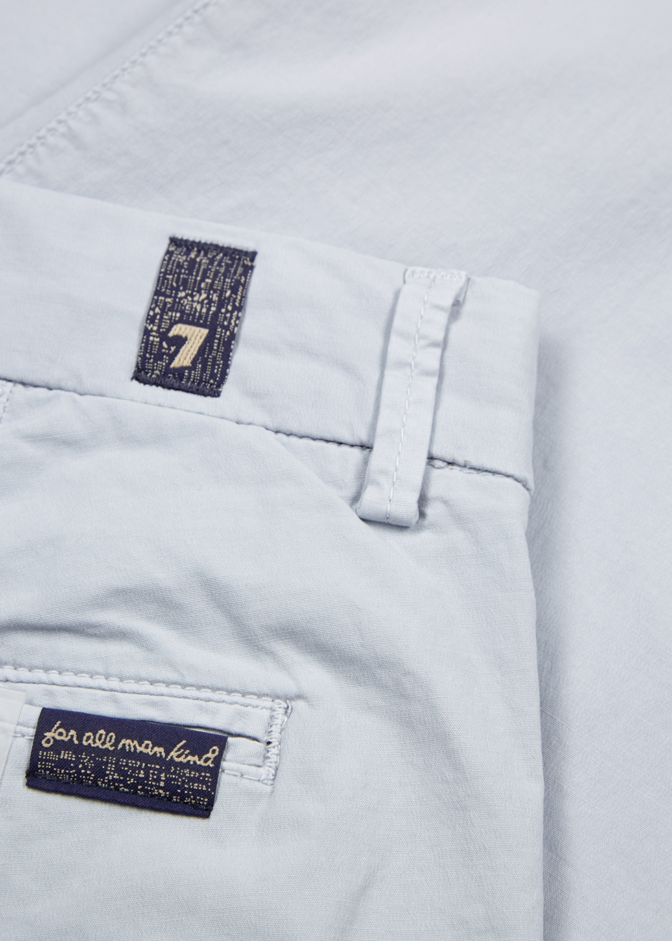 Weightless Slimmy stretch-cotton chinos - 7 For All Mankind