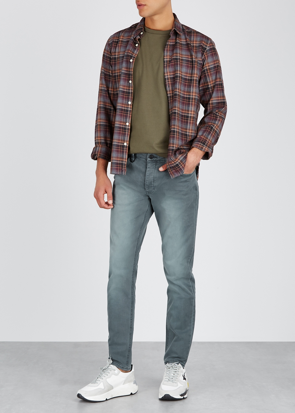 Lou sage slim-leg jeans - Neuw