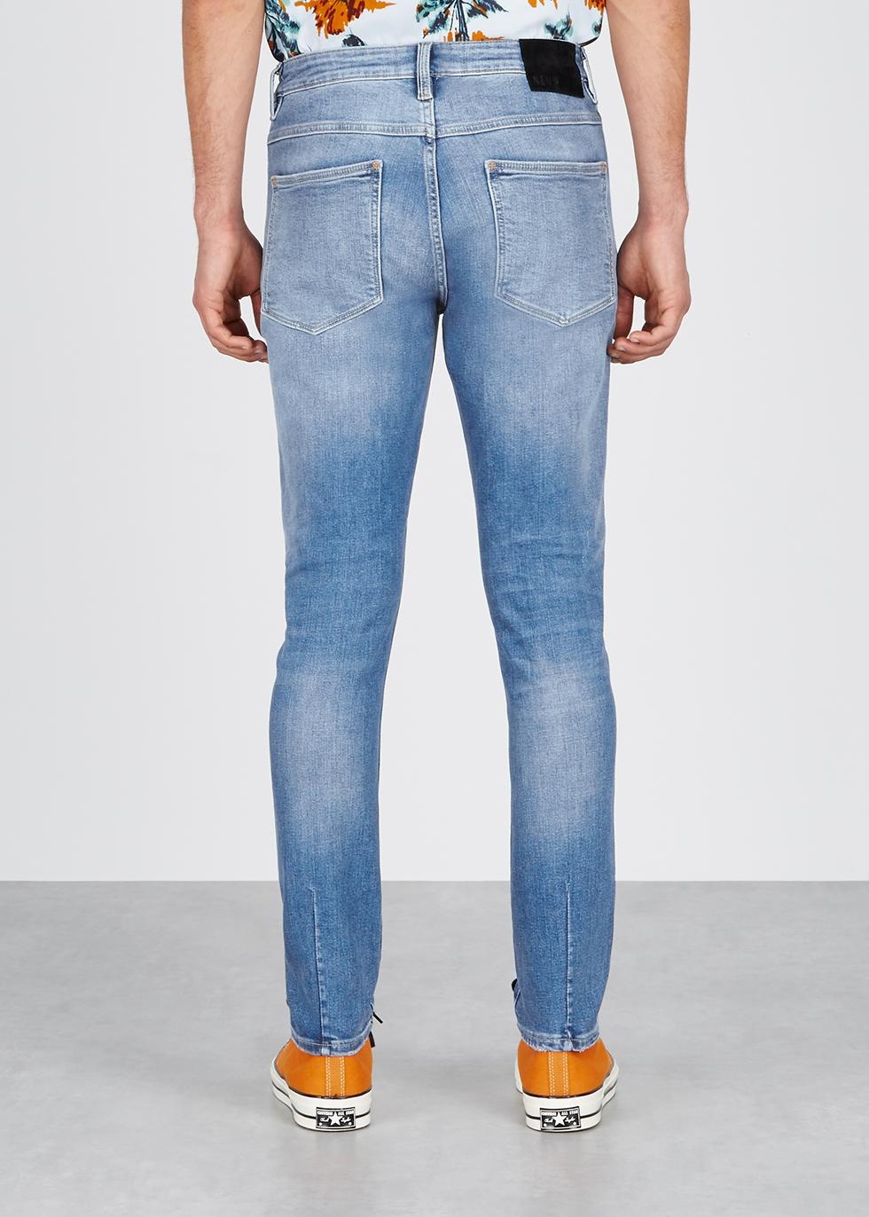 Rebel Form light blue skinny jeans - Neuw