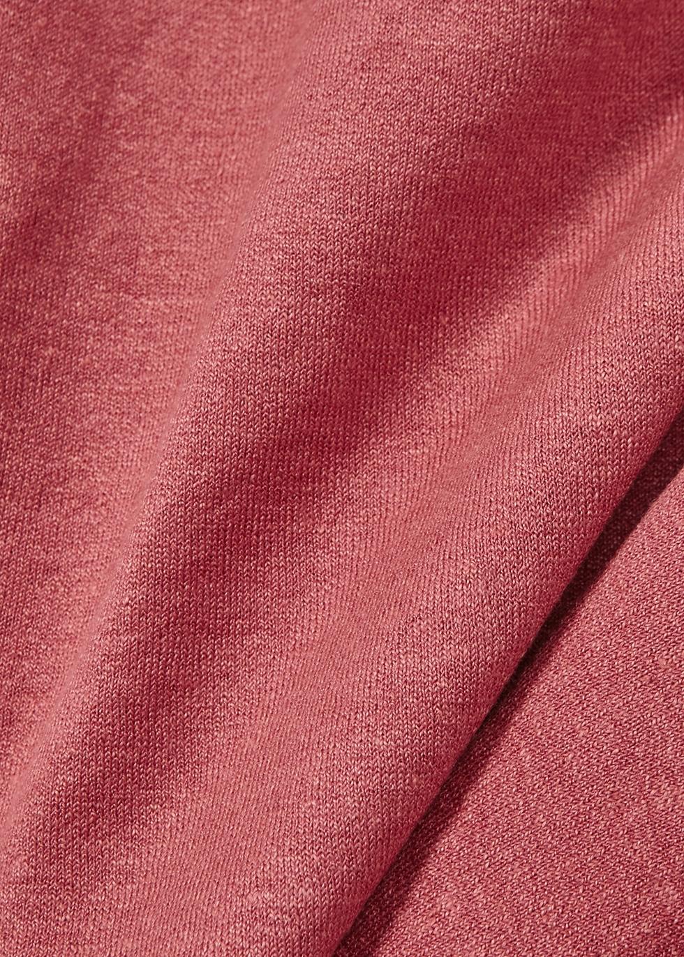 Rose linen-blend jumper - EILEEN FISHER