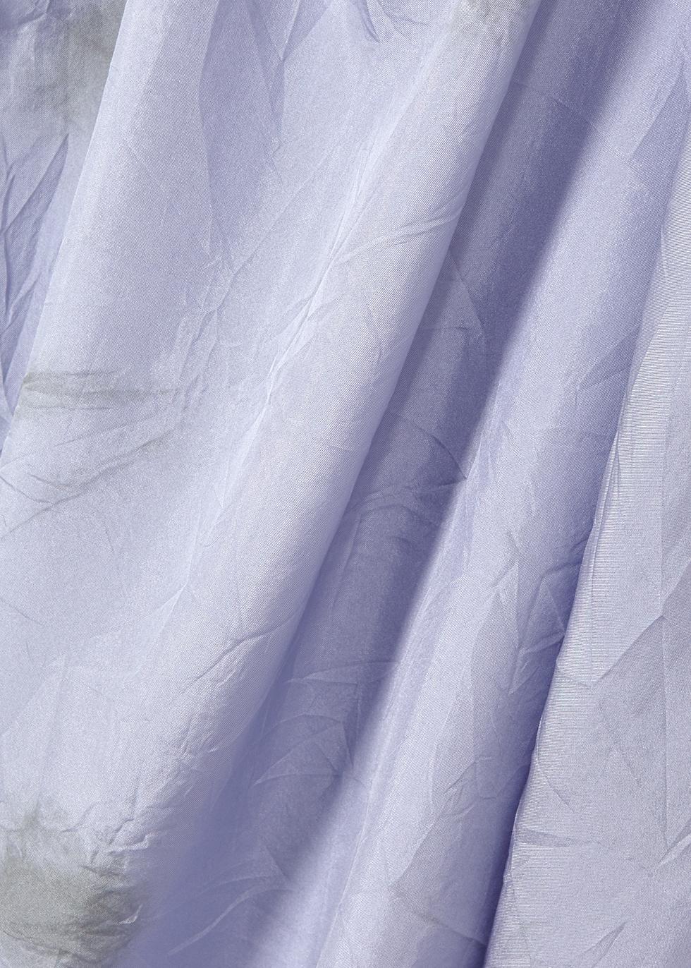 Lilac tie-dye silk top - EILEEN FISHER