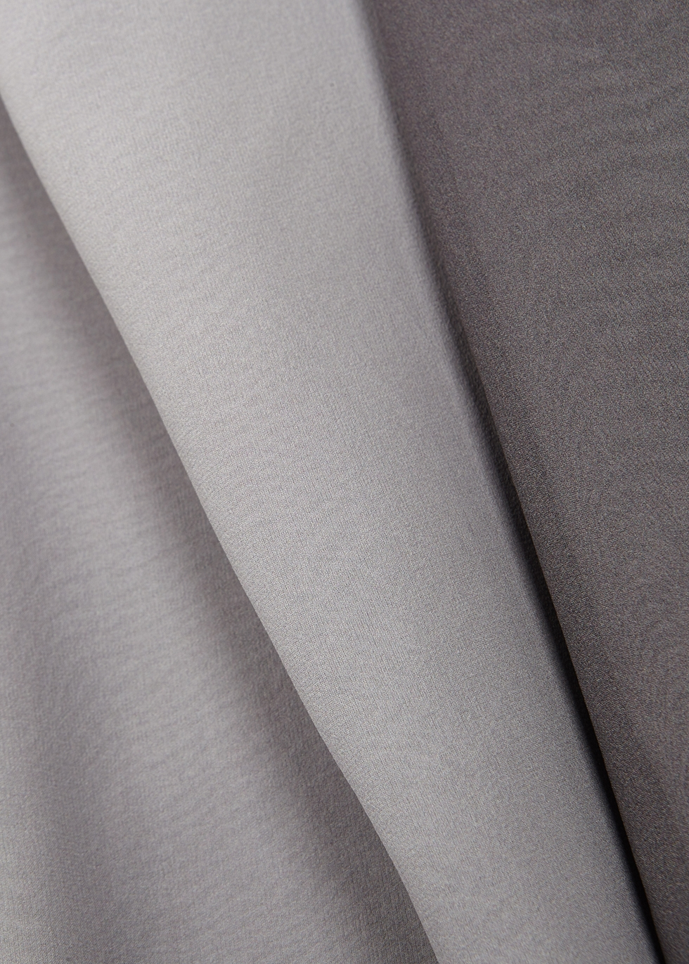 Grey dégradé silk dress - EILEEN FISHER