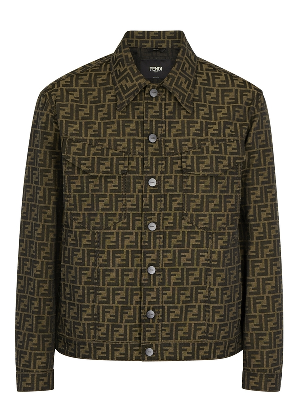 Monogrammed jacquard jacket Monogrammed jacquard jacket. New Season. Fendi 077e20aa22