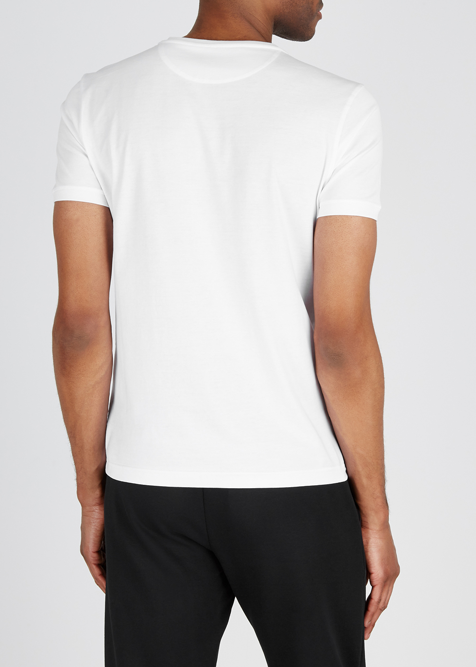 White cotton T-shirt - Fendi