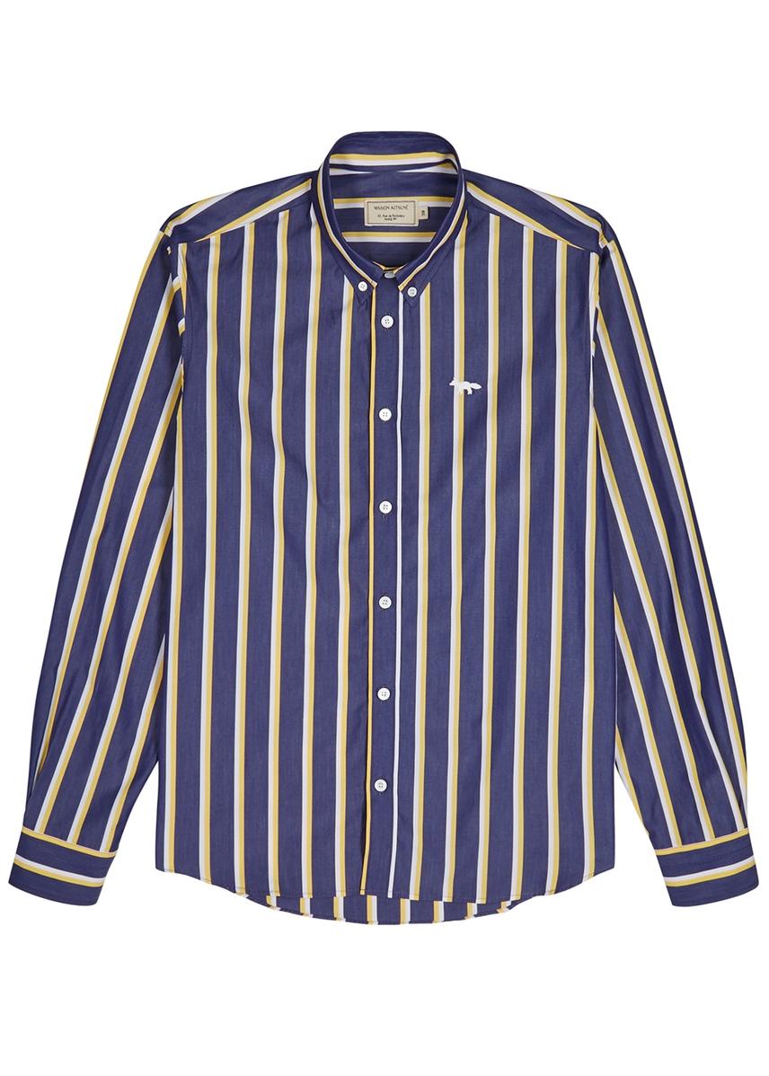 a9cd6f146a24 Striped cotton shirt Striped cotton shirt