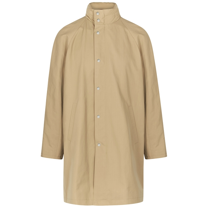 Maison Kitsuné Coats SAND COATED COTTON-BLEND JACKET