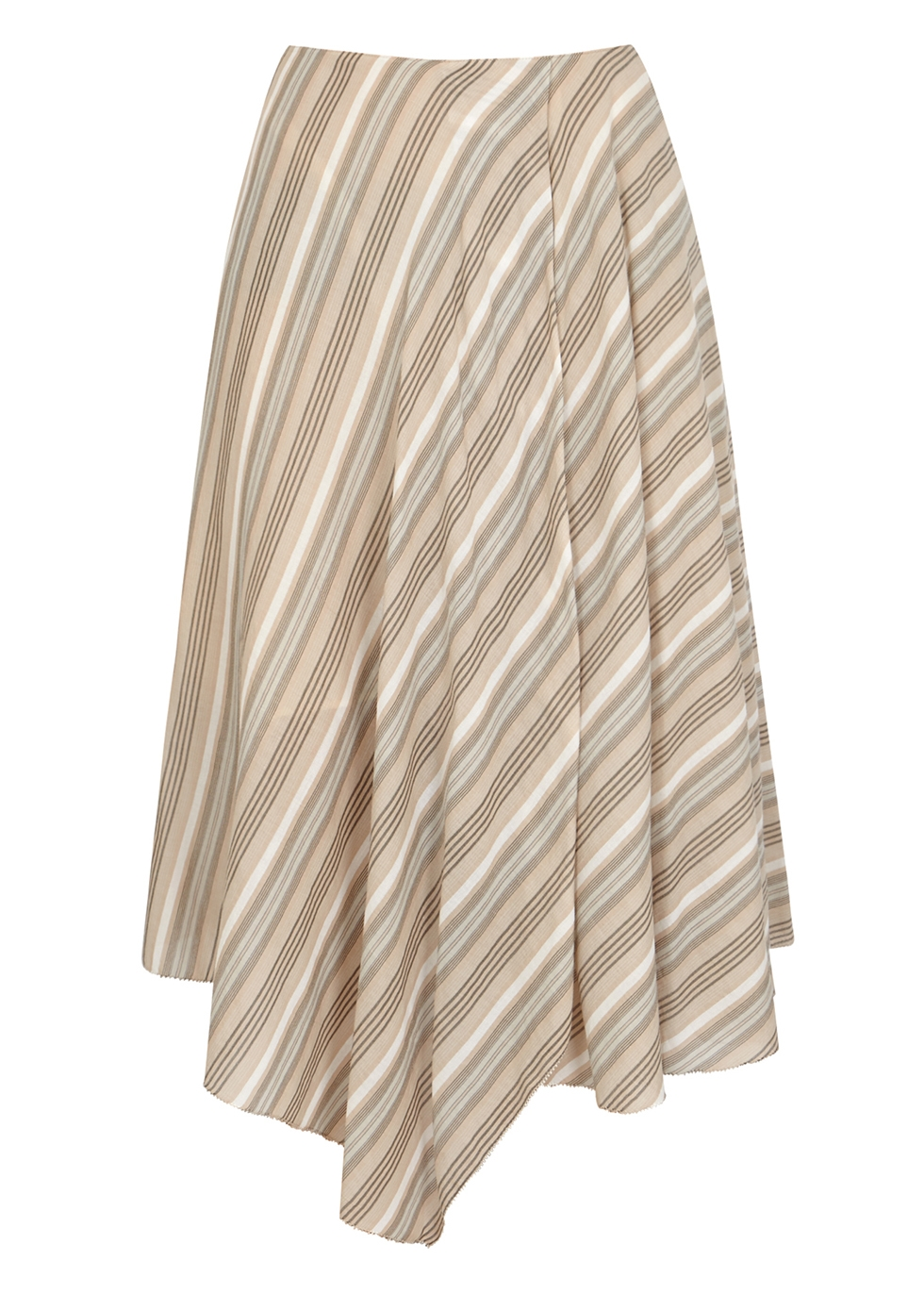 Striped cotton voile skirt - Acne Studios