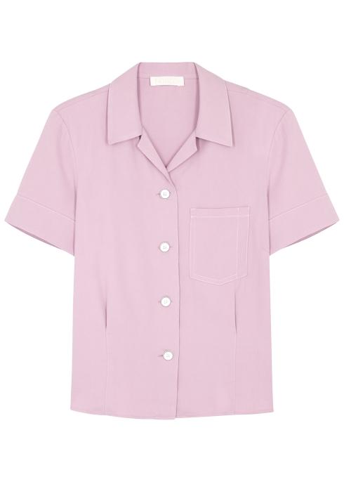 d915b712873669 LOROD Lilac silk shirt - Harvey Nichols