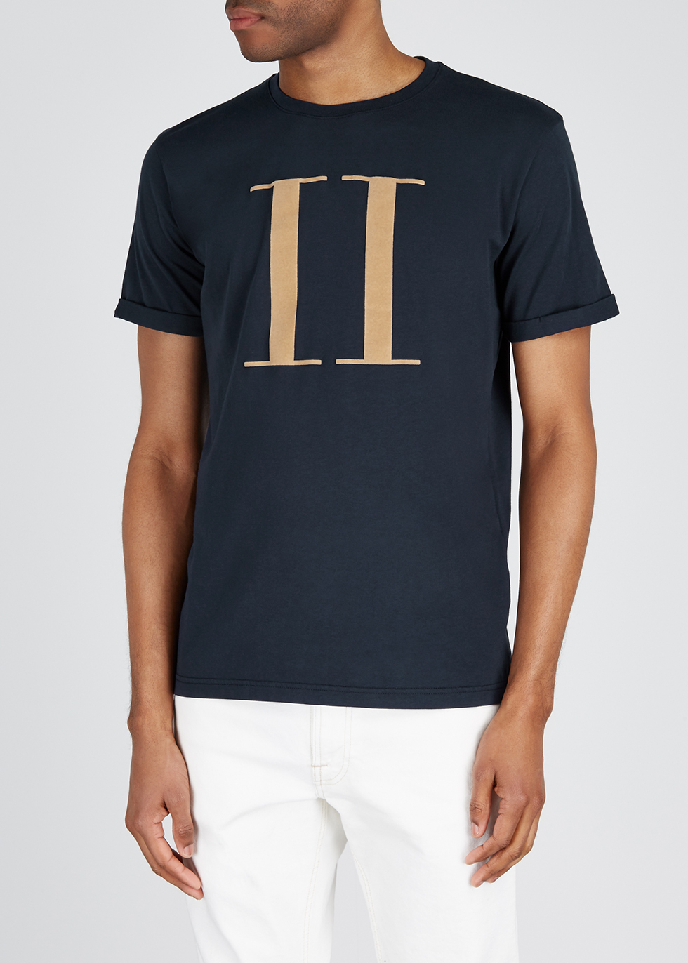 Encore flocked cotton T-shirt - Les Deux