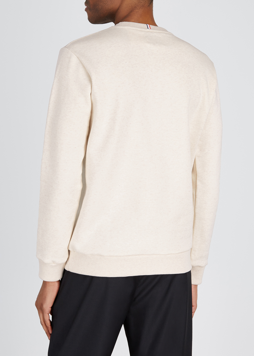 Ivory cotton-blend sweatshirt - Les Deux