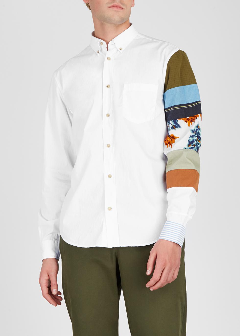 Sarkis printed cotton shirt - Acne Studios