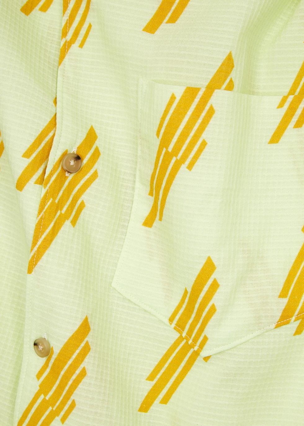 Simon printed cotton shirt - Acne Studios