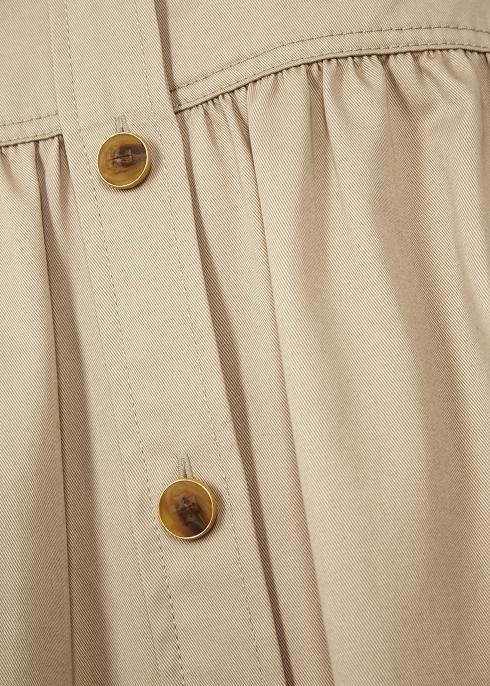 f71c09fd1 Tory Burch Sand twill shirt dress - Harvey Nichols